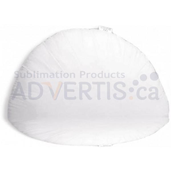 Inner Filling for Sublimation Oval Pillowcase, 200g, 40x35 cm.