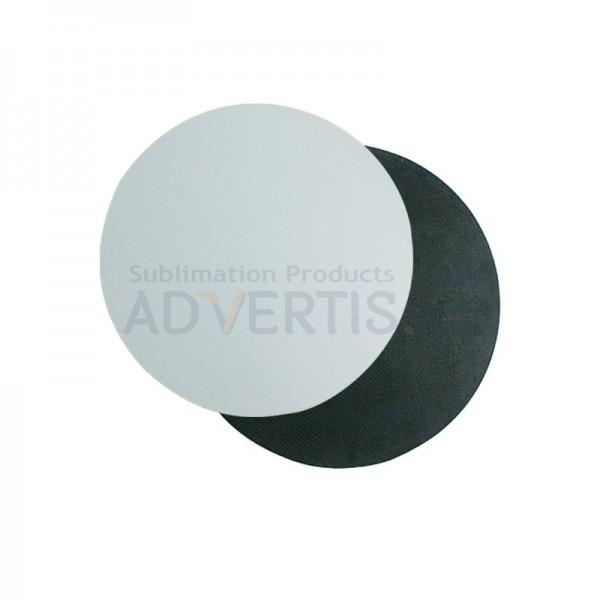 Sublimation Round Mouse Pad, 18x0.3cm.