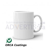 11oz. ORCA White Sublimation Ceramic Coffee Mug (36 pack)