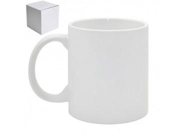 11oz. White Sublimation Ceramic Coffee Mug with Individual Gift Box (36 pack)