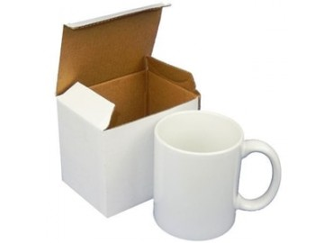 11oz. White Carton Box / Packing for 325ml. Mug