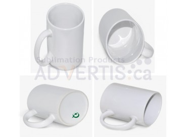 15oz. ORCA White Sublimation Ceramic Coffee Mug with Individual Gift Box (36 pack)
