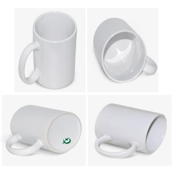 15oz. ORCA White Sublimation Ceramic Coffee Mug with Individual Gift Box (36 pack)