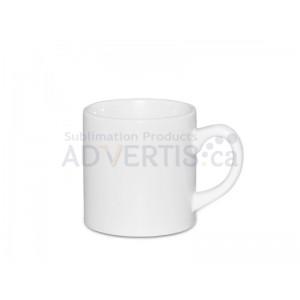 6 oz. White Sublimation Ceramic Coffee Mug (12 pack)