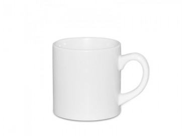 6oz. White Sublimation Ceramic Coffee Mug (12 pack)