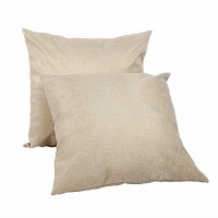Sublimation Square Pure Linen Pillowcase, 40x40 cm.