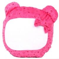 Sublimation Little Bear Pillowcase Pink, 40x37 cm.