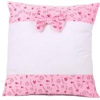 Sublimation Square Soft Plush Pillowcase pink, 40x40 cm.