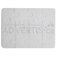 Sublimation Jigsaw Puzzle, 25x18сm, 12pcs.