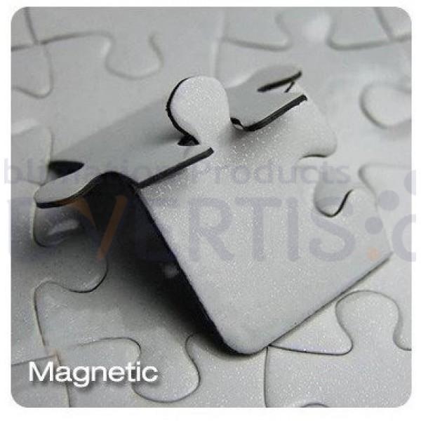 Sublimation Jigsaw Puzzle with Magnet, 27x18cm, 126 pcs.