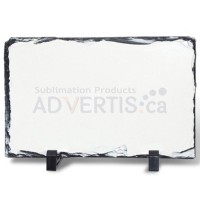 Sublimation Rectangular Photo Slate Rock Stone, 20x30 cm.