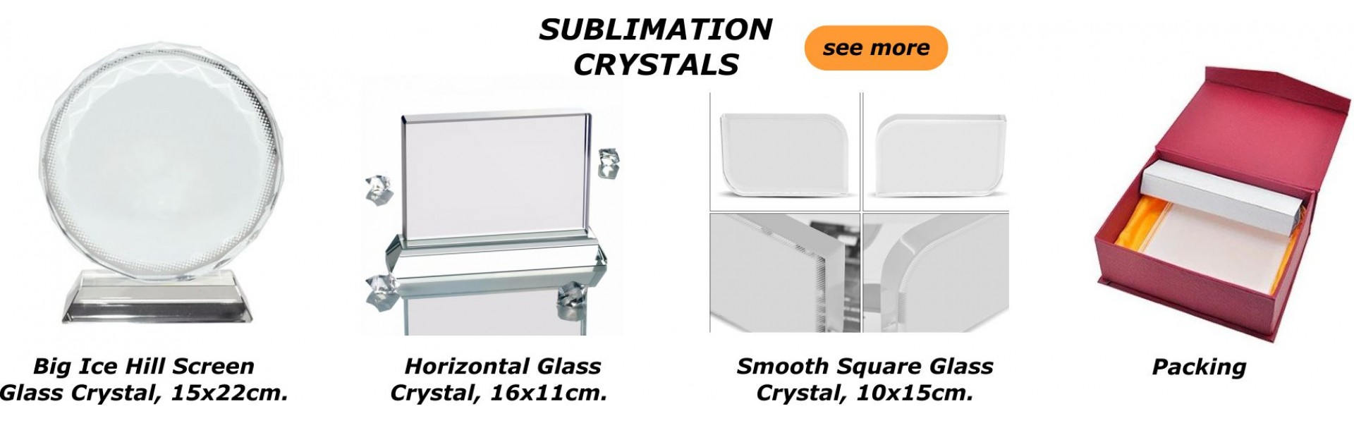 Sublimation Crystals