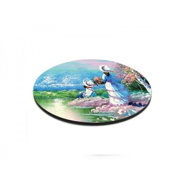 Sublimation MDF Round Mug Coaster, 10 cm (6 pcs)
